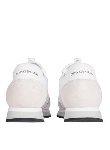 Calvin Klein Calvin Klein Erkek Beyaz Sneaker Beyaz